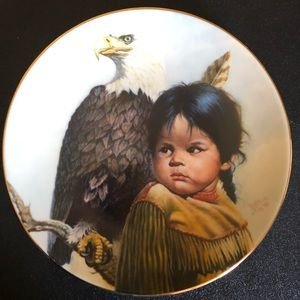 Brave & Free Collection Plate